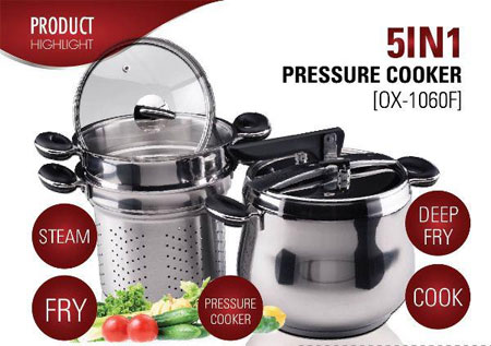 presto stainless steel pressure cooker manual